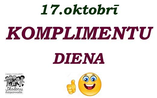 komplimentu diena_2017
